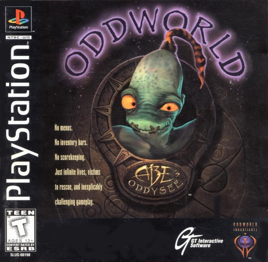 abe oddysee cover
