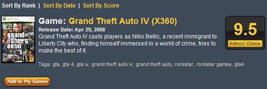 GTA IV 9.5