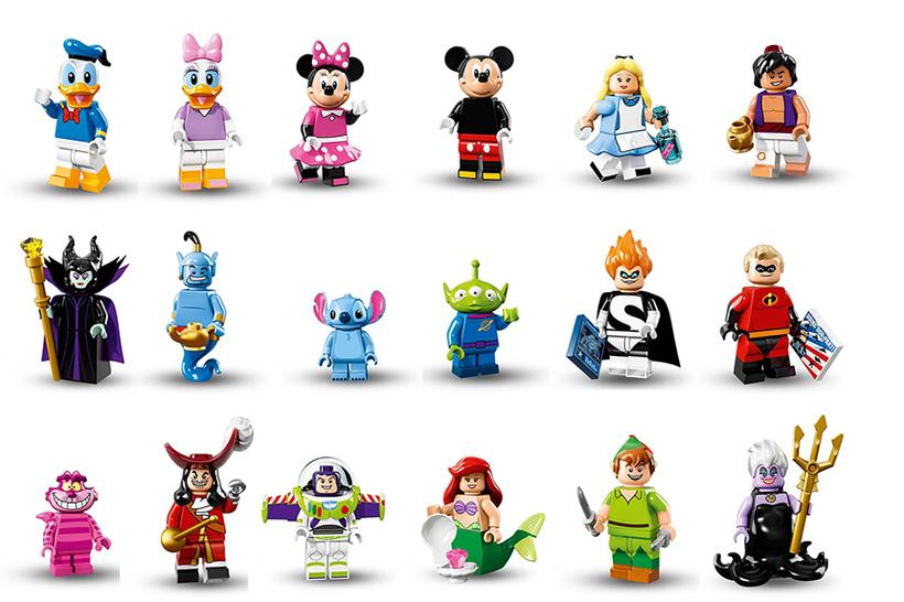 LEGO Disney minifigs series 18