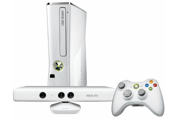 Hvid Xbox 360 konsol