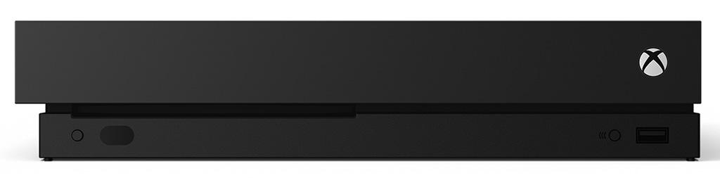 Xbox One X set forfra