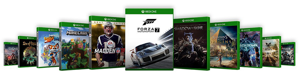 Xbox One X spil
