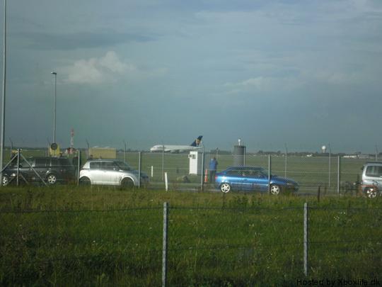 Airbus A380 in Copenhagen