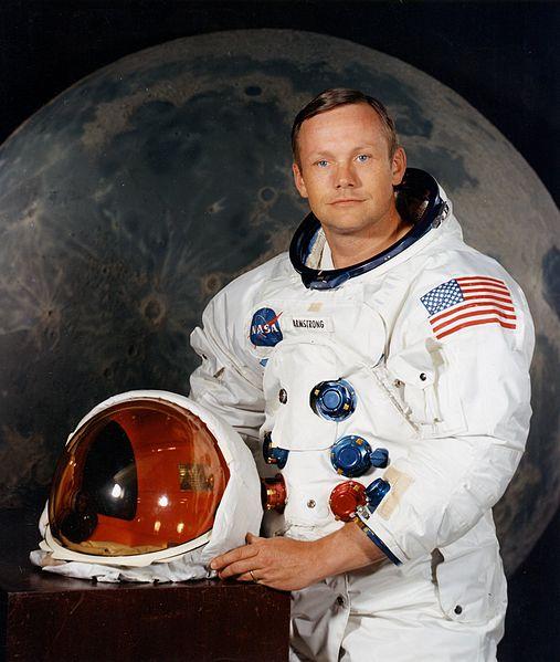 Neil Armstrong død