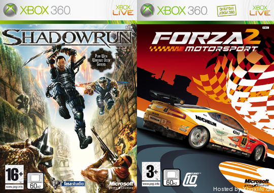 FOrza 2, Shadowrun, Colin McRae DiRT
