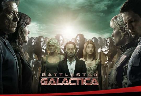 Battlestar Galactica - det er ikke for sjov!