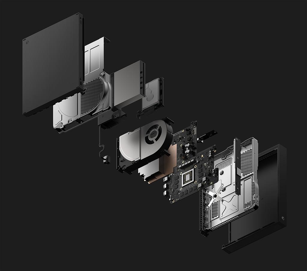 Xbox One X inside