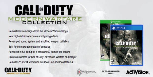 cod modern warfare collection