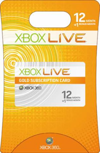 12 months Xbox Live