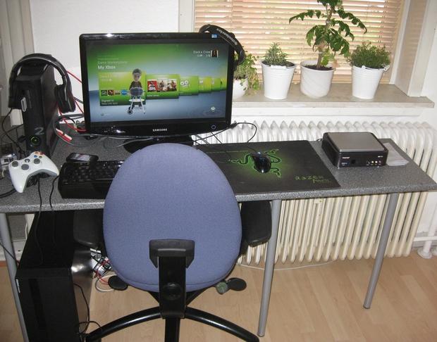 Old setup