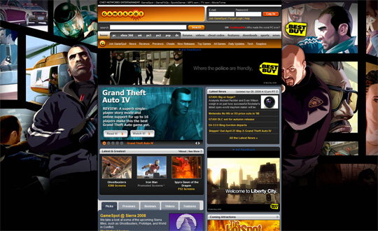 GTA IV takeover Gamespot