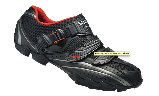 Shimano M087L cycling shoes