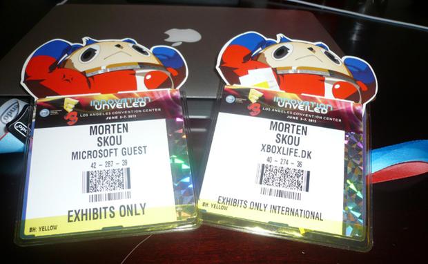 E3 Badges