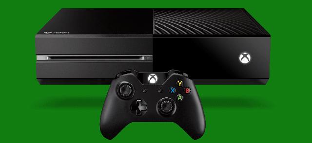 Billede af Xbox One konsollen fra Microsoft.