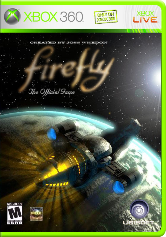 Firefly - Xbox 360 cover
